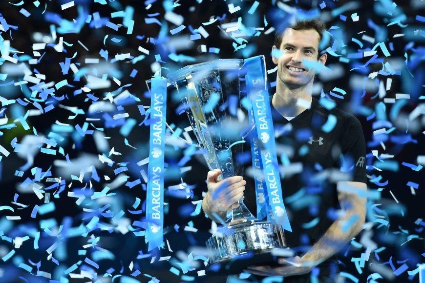 """Andy Murray nugalėjo Novaką Džokovičių ir triumfavo """"ATP World Tour Finals"""" turnyre"""