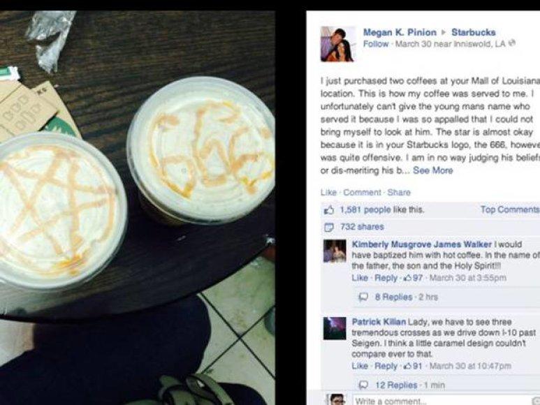 """Moters skundas dėl """"Starbuck"""" kavos"""