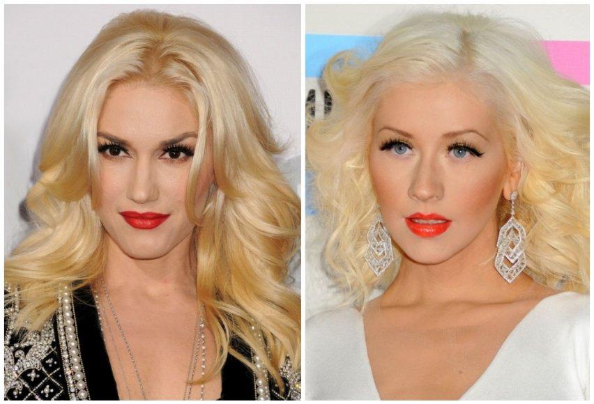 Gwen Stefani ir Christina Aguilera