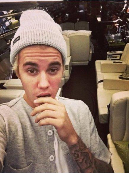 Justinas Bieberis Kalėdų proga sau pasidovanojo naują privatų lėktuvą