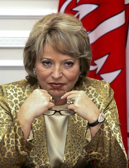 Sankt Peterburgo gubernatorė Valentina Matvijenko