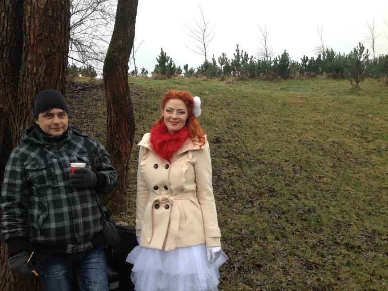 Skaitytojo reportažas: Šv.Valentino diena Ozo parke