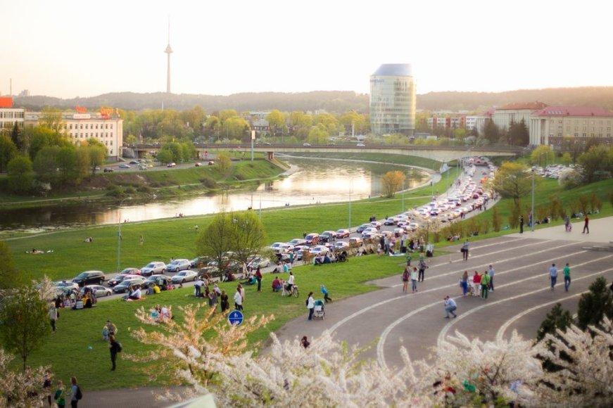 Trečiadienio vakaras Vilniuje