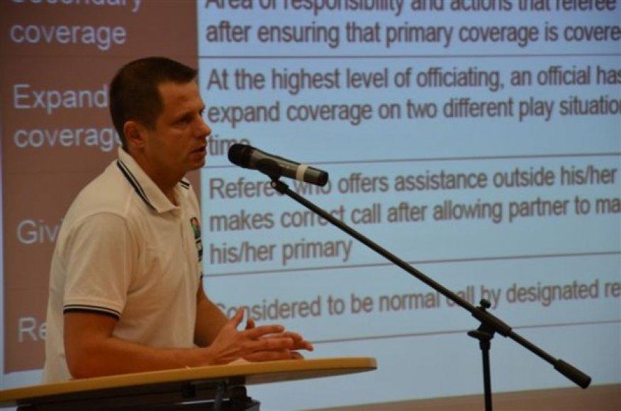 Seminaro metu aptartos naujausios teisėjavimo mechanikos tendencijos.