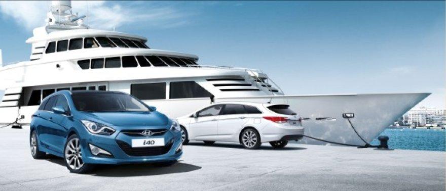 """Naujasis """"Hyundai i40"""" atvyksta į Vilnių"""