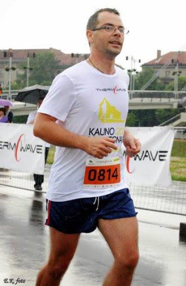 Tomas Jakas bėga 10 km
