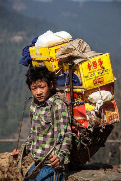 Bertos Tilmantaitės užfiksuoti Himalajų žmonės ir gamta