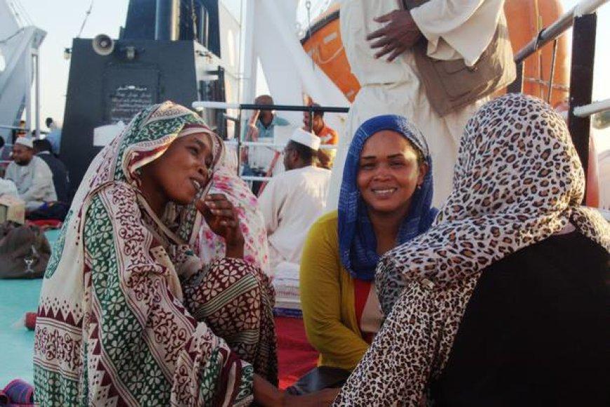 Gražūs Sudano žmonės
