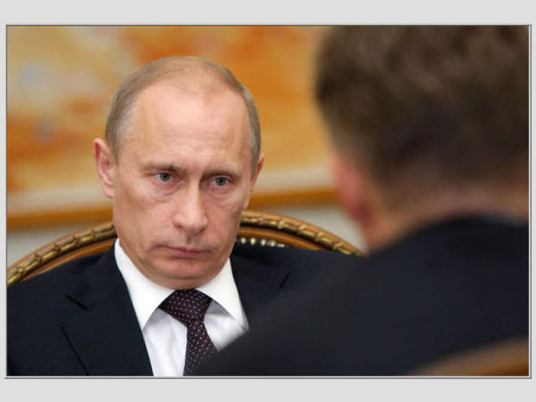 Vladimiras Putinas ir Aleksejus Mileris
