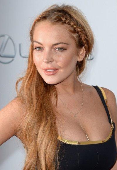 """Lindsay Lohan filmo """"Pats baisiausias filmas 5"""" premjeroje"""