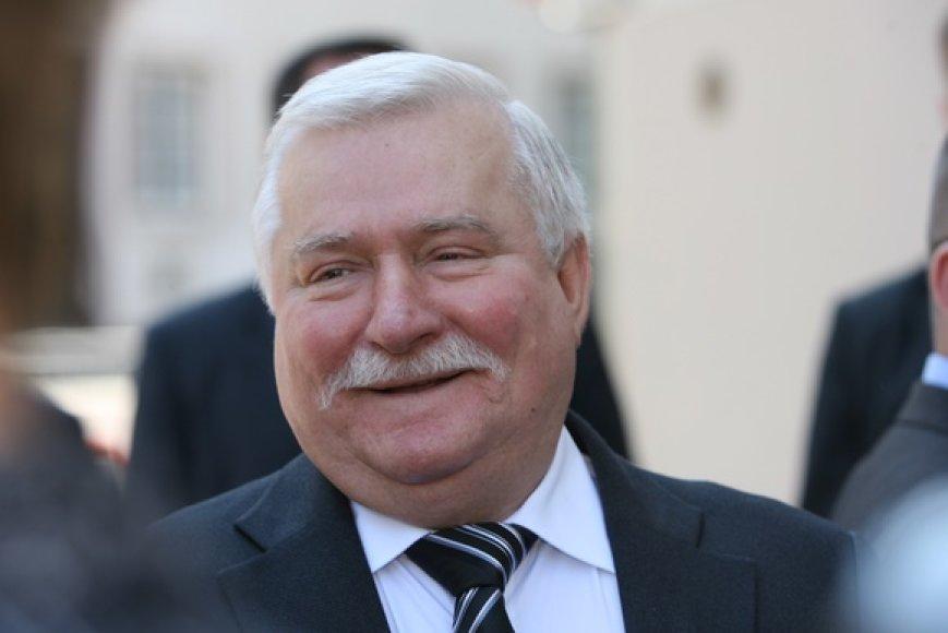 Buvęs Lenkijos prezidentas Lechas Walesa