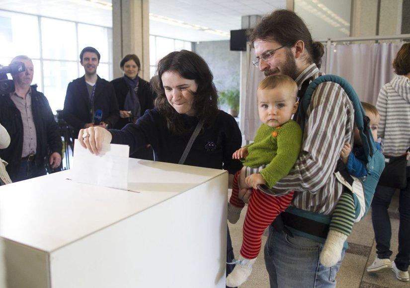 Lietuva šeštą kartą renka prezidentą.