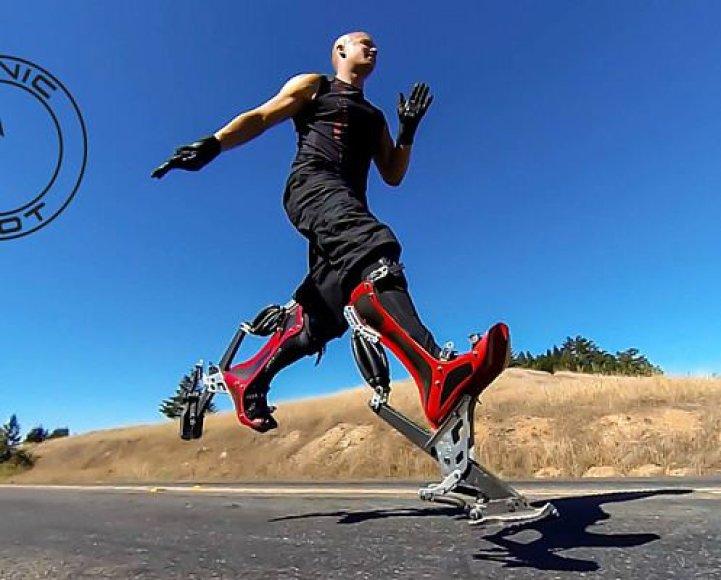 Bioninės stručio kojos