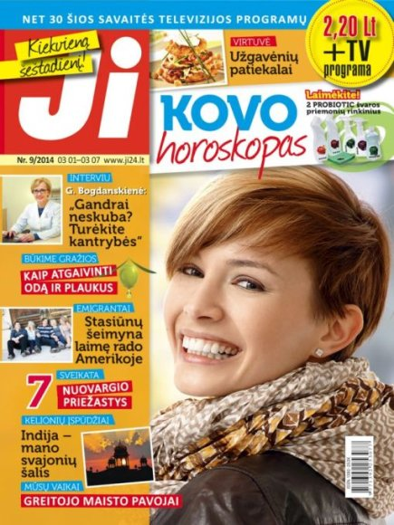 """Žurnalo """"Ji"""" archyvo nuotr. / 2014 m. / Nr. 9"""