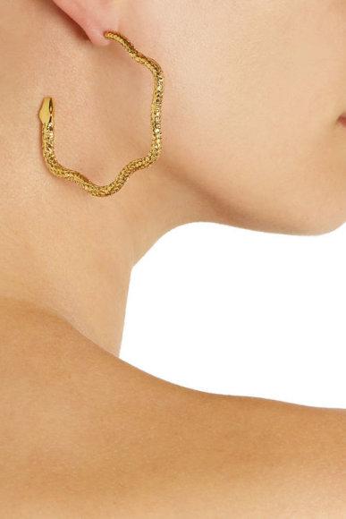 Gyvatės formos auskarai