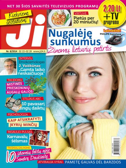 """Žurnalo """"Ji"""" archyvo nuotr. / 2014 m. / Nr. 8"""