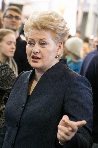 """Dalia Grybauskaitė žinių ir išsilavinimo parodoje """"Studijos 2014"""""""