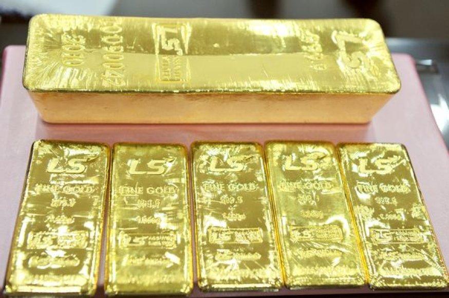 Aukso luitai parodoje