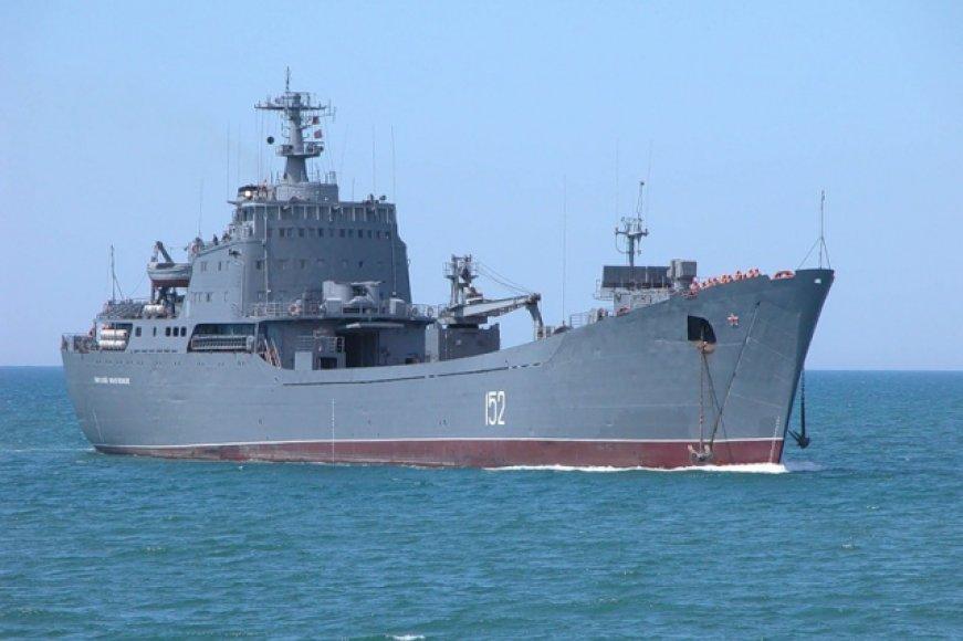 """Rusijos laivas """"Nikolaj Filčenkov"""""""