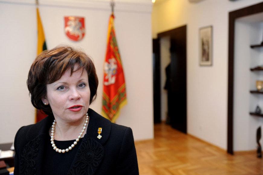 Ministrė Rasa Juknevičienė (2012 m.).