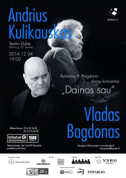 Vladas Bagdonas ir Andrius Kulikauskas