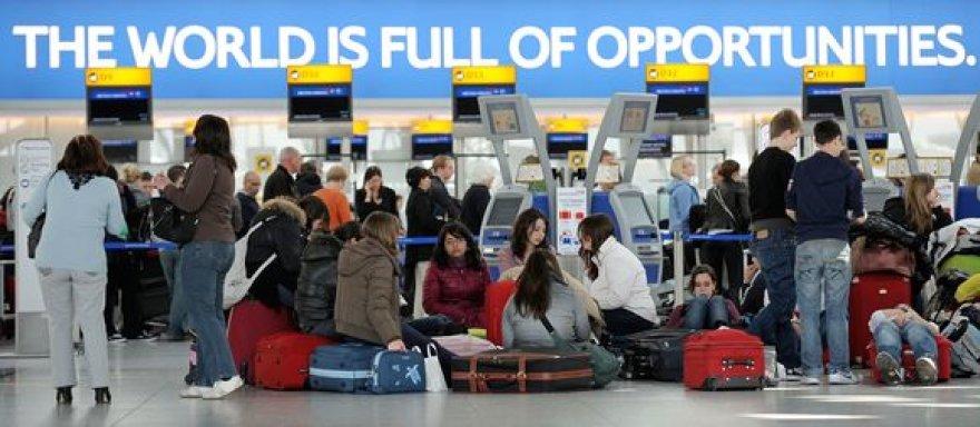 Londonas, Hitrou oro uostas