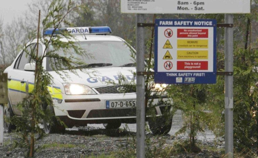 Airijos policija.