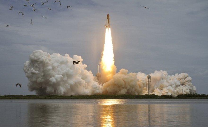 """Paskutinis erdvėlaivio """"Atlantis"""" pakilimas į kosmosą"""