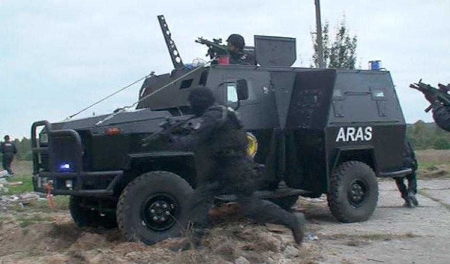 Antiteroristinių padalinių pratybos