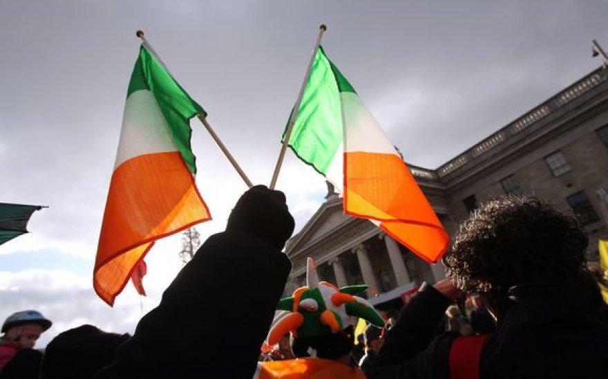 Protestuojantys airiai