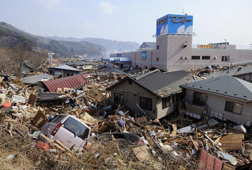 Otsuši miestas 2011-ųjų kovo 13 dieną