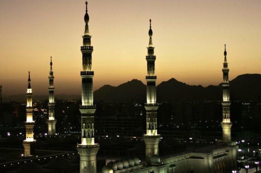 Minaretai Medinoje