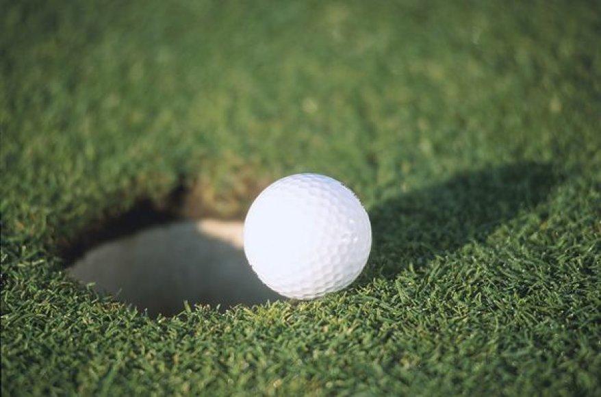 golfo kamuoliukas