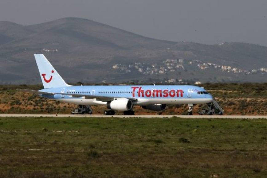 """Thomson Airways"" lėktuvas"