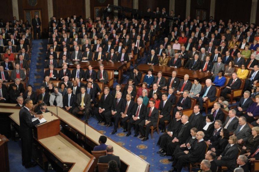 Metinis Baracko Obamos pranešimas Kongrese