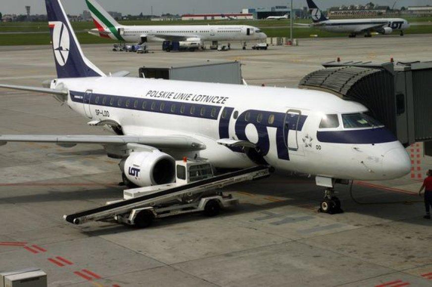 Vienas iš LOT lėktuvų