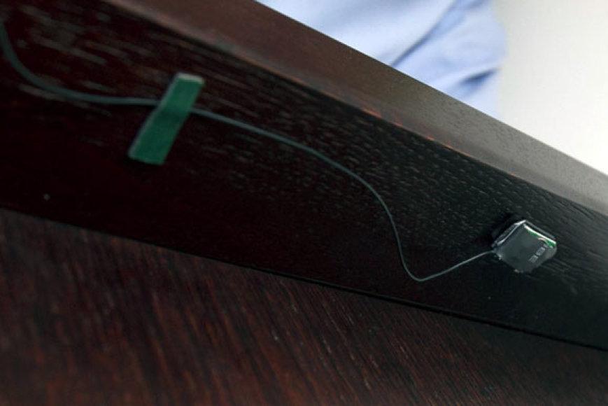 Pasiklausymo įranga (asociatyvinė nuotrauka)