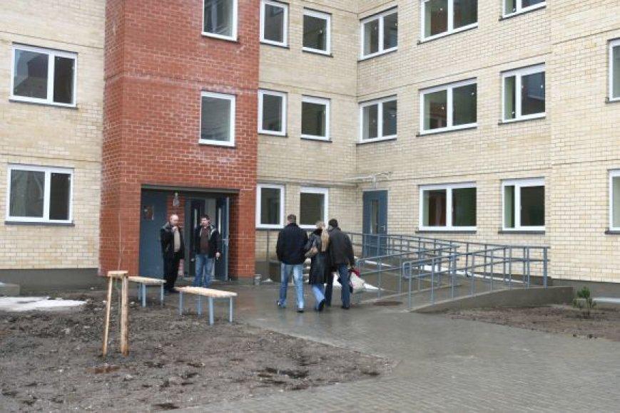 Šiuo metu socialinio būsto laukia beveik 2000 žmonių.