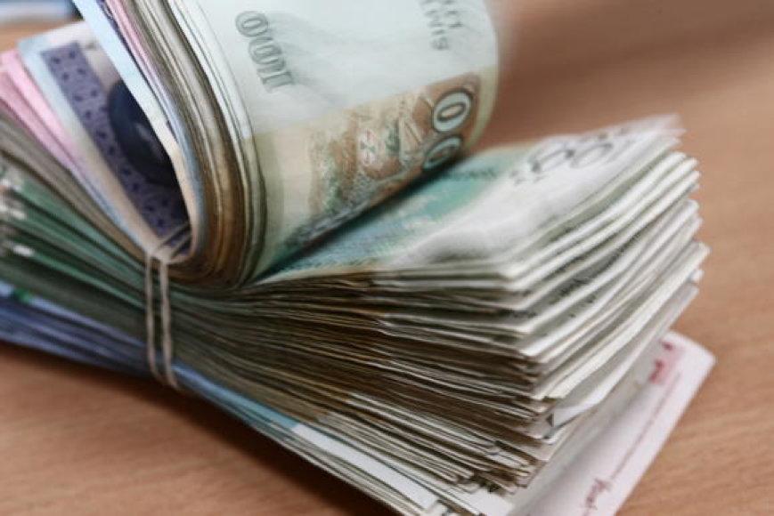 Pinigai. Asociatyvinė nuotr.