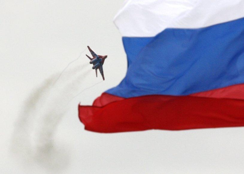 """Rusijos naikintuvas """"MiG-29"""""""