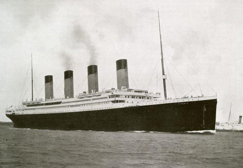"""""""Titanikas"""" 1912 metais"""