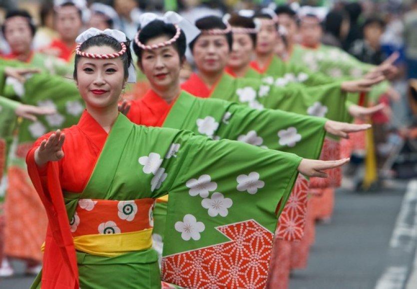 Japonių šokis