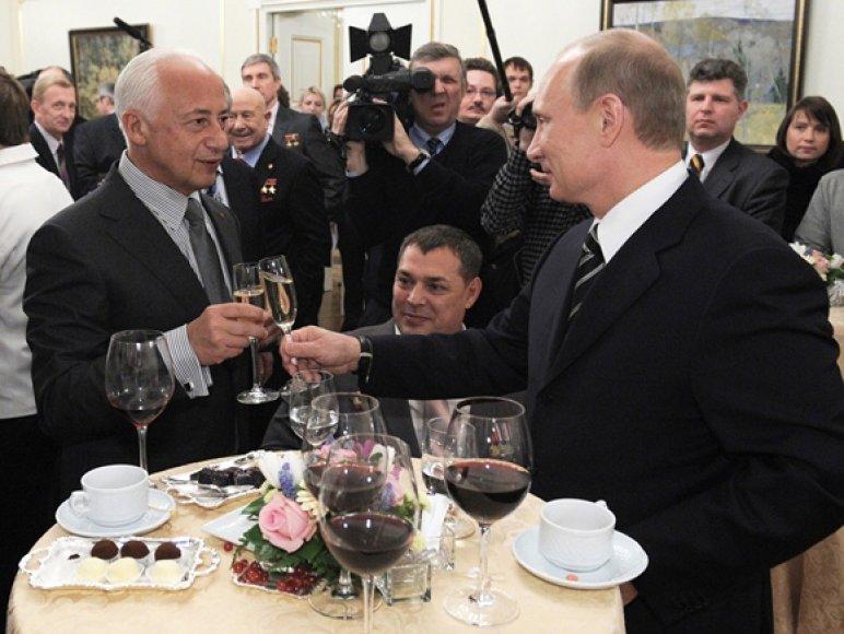 Vladimiras Spivakovas ir Vladimiras Putinas