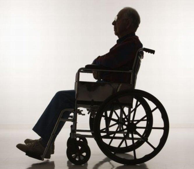 Neįgalusis vežimėlyje