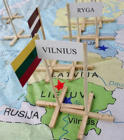 Lietuvos žemėlapis
