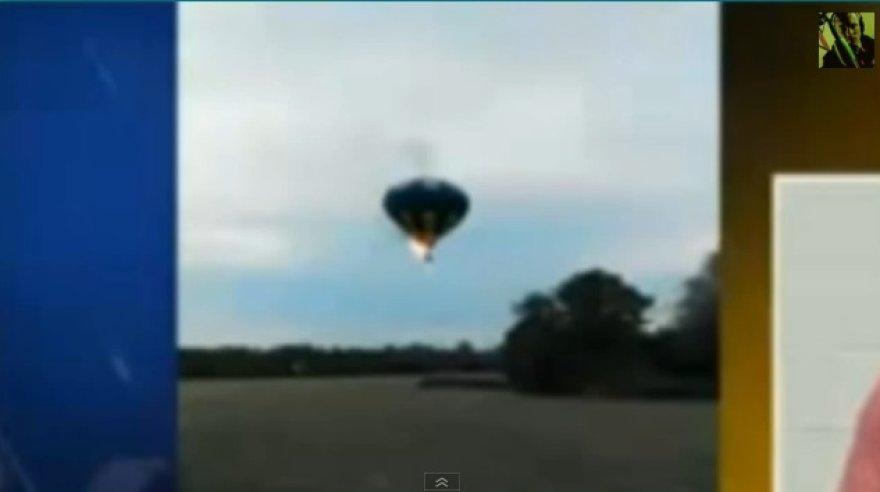 Degantis karšto oro balionas