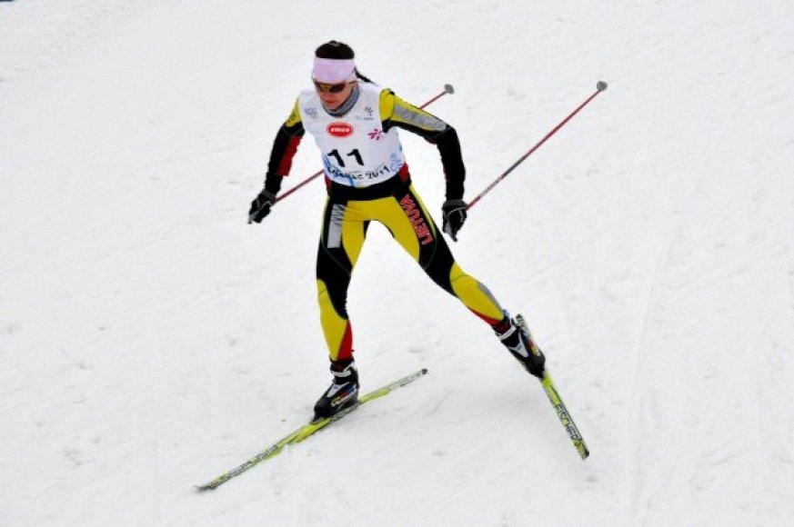 Žiemos olimpiniame festivalyje slidininkė I.Ardišauskaitė – 17-ta