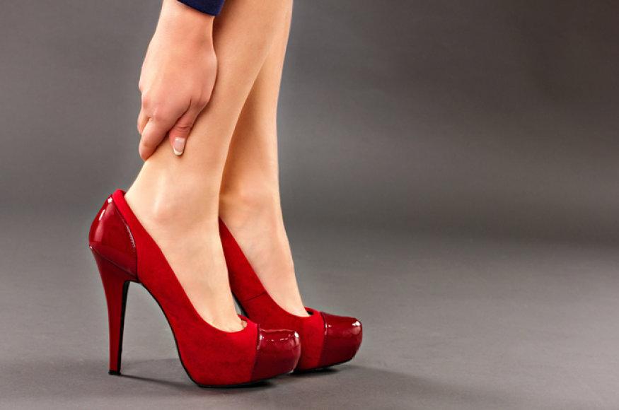 Skausmas kojose