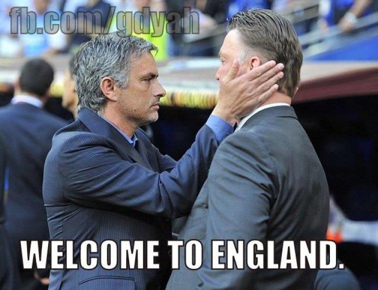 """Internautų memai apie """"Manchester United"""""""
