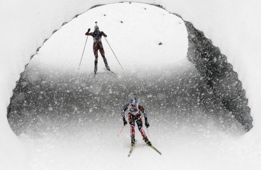 Biatlono varžybos